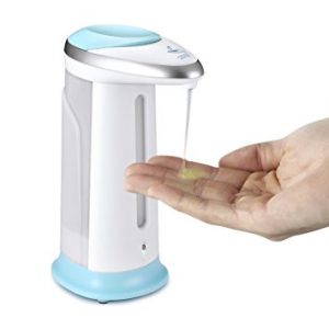 dispensador de jabón líquido infrarrojo