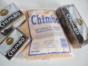 jabón chimbo escamas y barra
