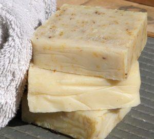 jabón natural casero